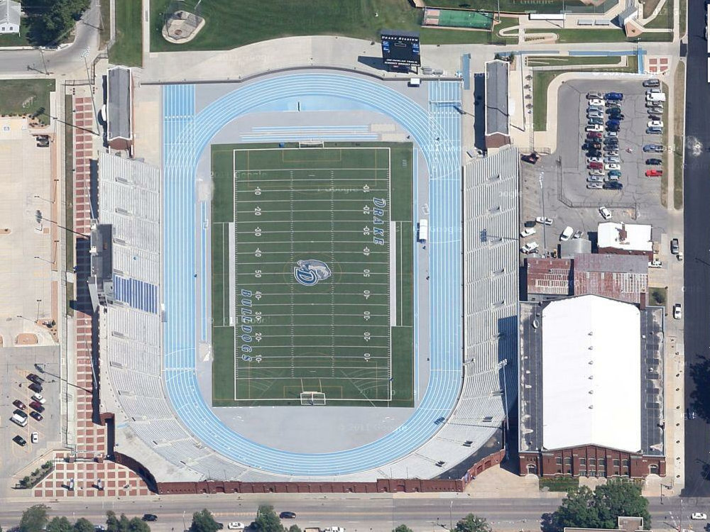 Drake Stadium – Des Moines, IA | Daily Track Pic