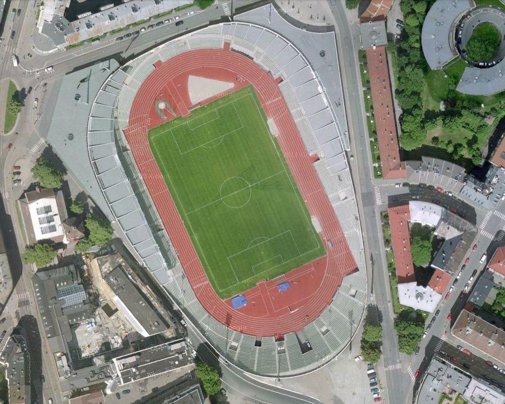 Bislett Oslo Norway Bislett Stadium Oslo Norway
