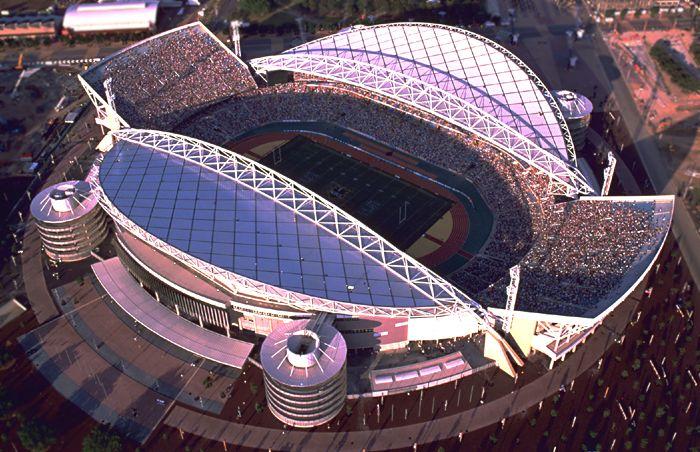 Olympic Stadium Sydney Australia Daily Track Pic