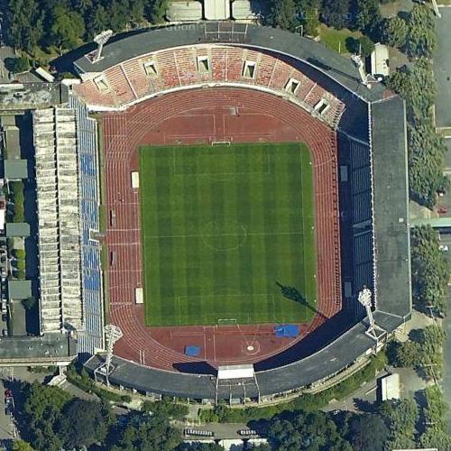 Stadion Evžena Rošického – Prague, Czech Republic