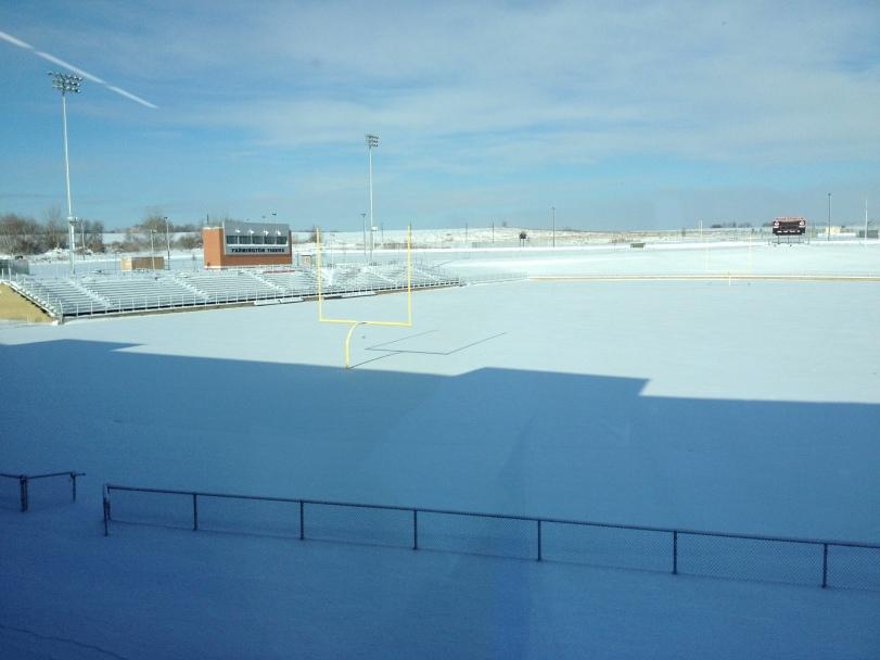 Farmington snow track