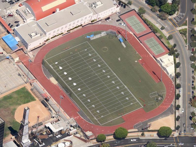 Beverly Hills High School Track Beverly Hills Ca Daily Track Pic