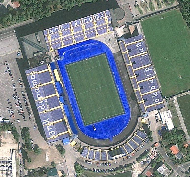 Maksimir Croatia  city photos gallery : Stadion Maksimir Zagreb, Croatia | Daily Track Pic
