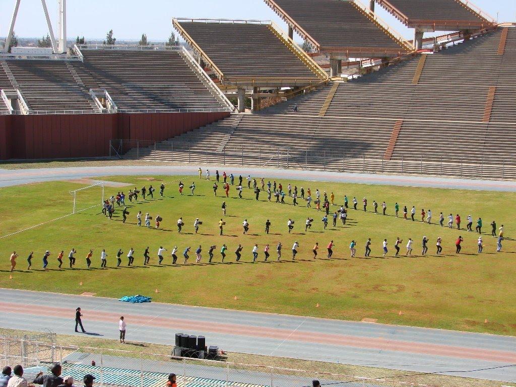 Mafikeng South Africa  city photo : Mmabatho Stadium – Mafikeng, South Africa | Daily Track Pic