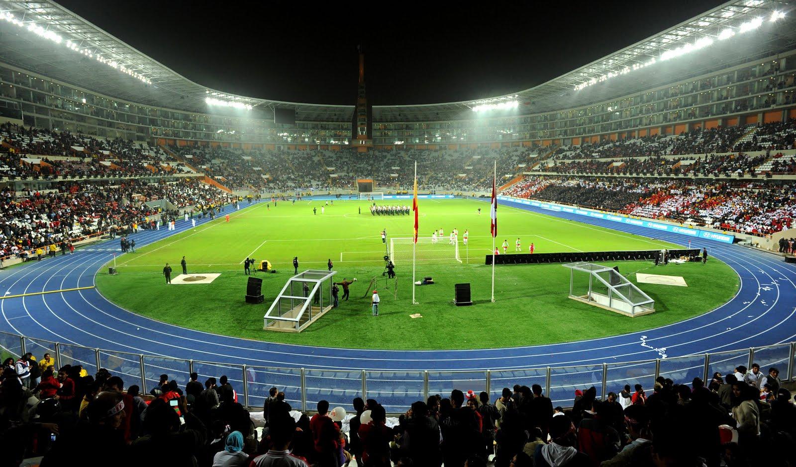 Nacional: Estadio Nacional – Lima, Peru