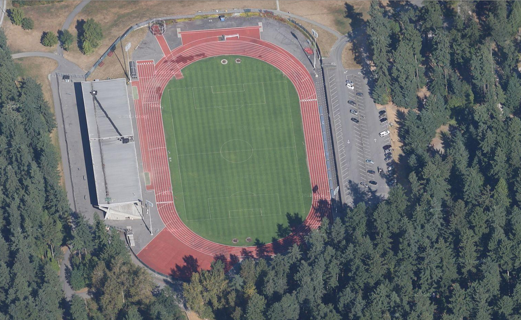 Burnaby (BC) Canada  city photos gallery : Swangard Stadium Burnaby, BC, Canada | Daily Track Pic