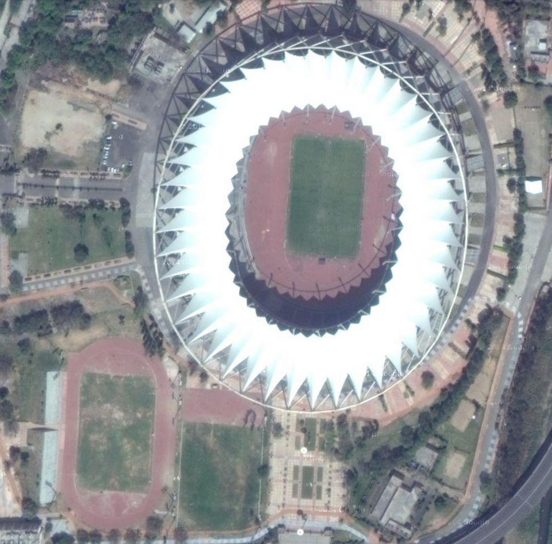 Jawaharlal Nehru Stadium in Delhi Jawaharlal Nehru Stadium is