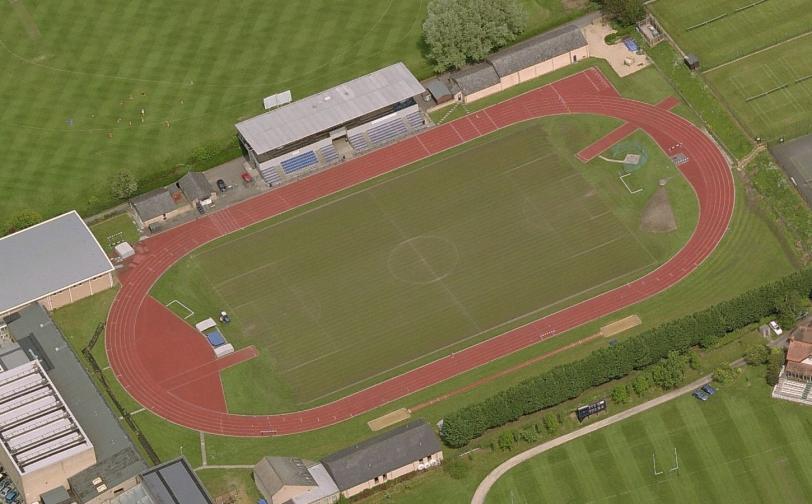 Roger Bannister Running Track