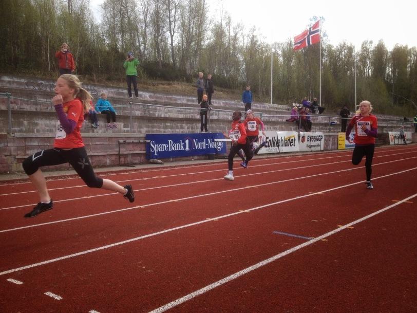 Sylvia i sprint, Åpningsstevne 2014