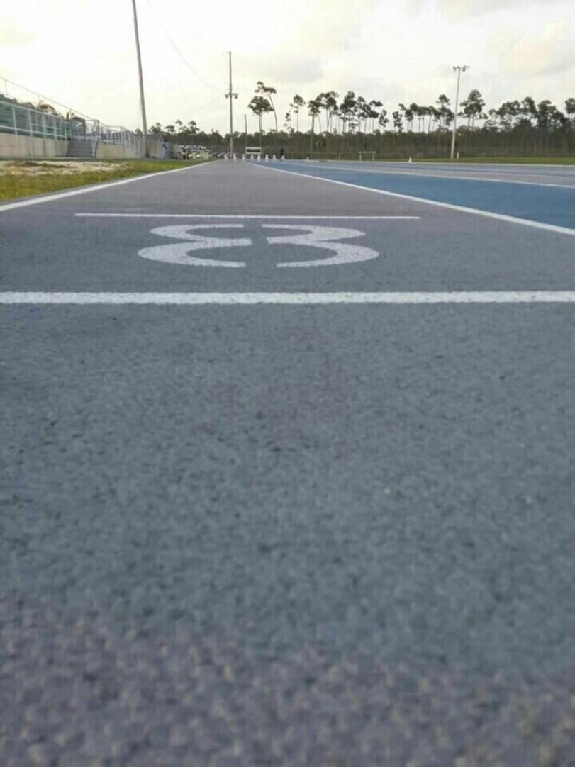 Grand Bahama Stadium track