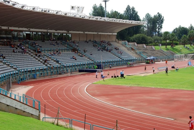 Pilditch Stadium track
