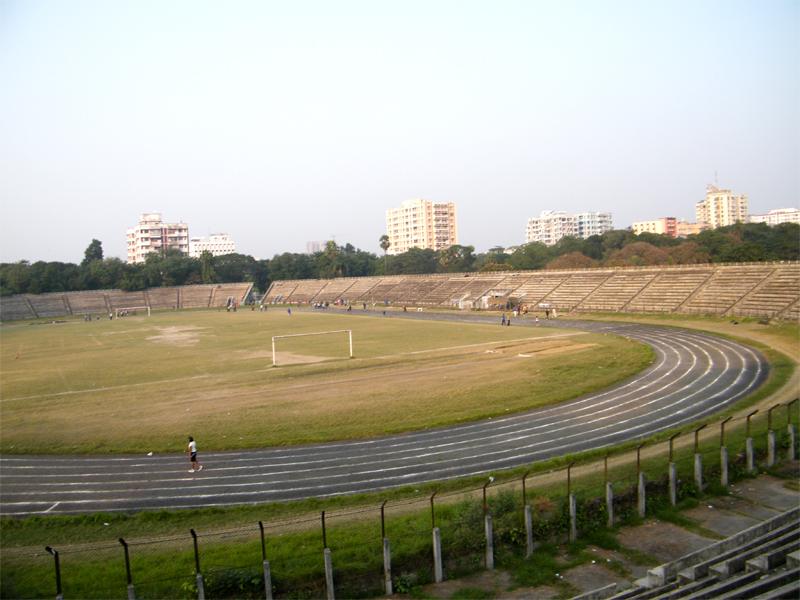 Rabindra Sarobar Stadium track