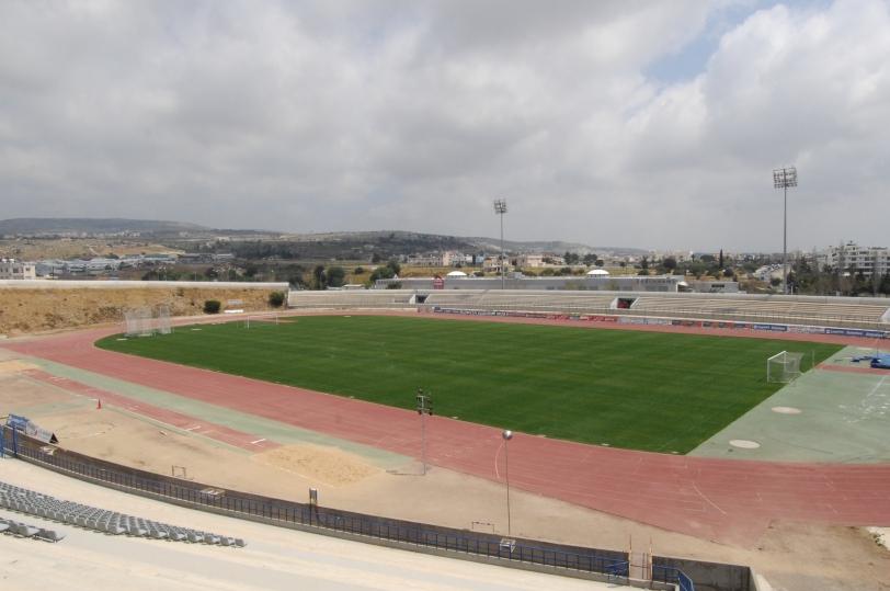 Pafiako Stadium track