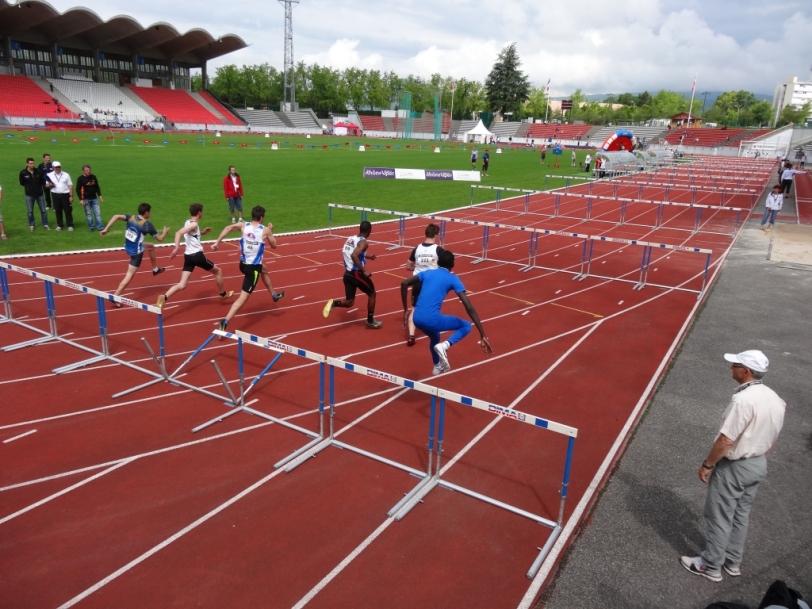 Parc des Sports d'Annecy track
