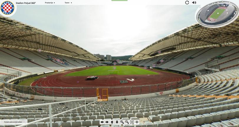 Stadion Poljud 360° • HNK Hajduk Split