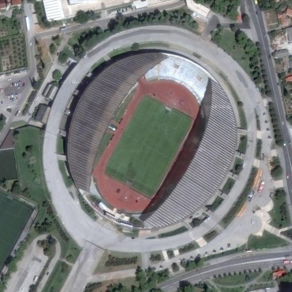 Stadion Poljud – Split, Croati...