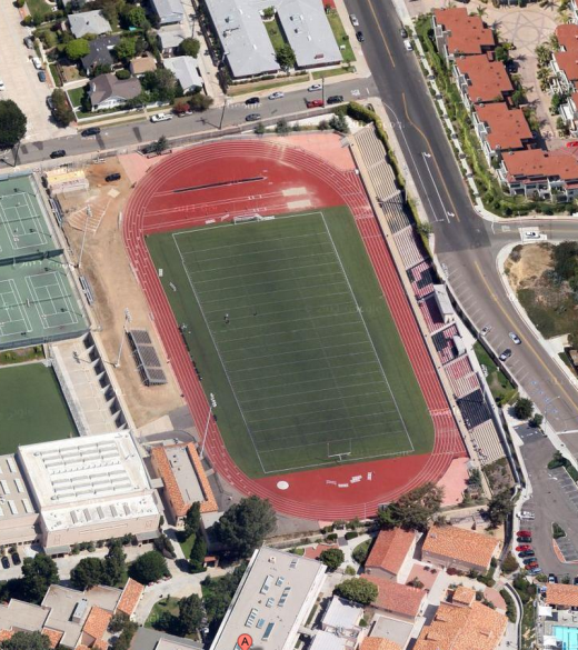 La Jolla High School, Google Maps