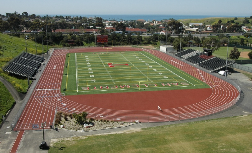 San Clemente High School track